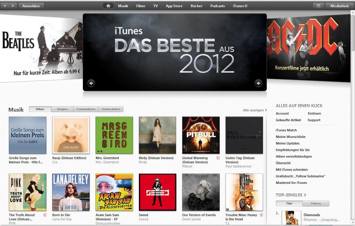 US iTunes Account erstellen